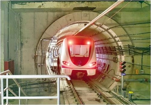 No-load trial operation of Nanning Metro Line 3